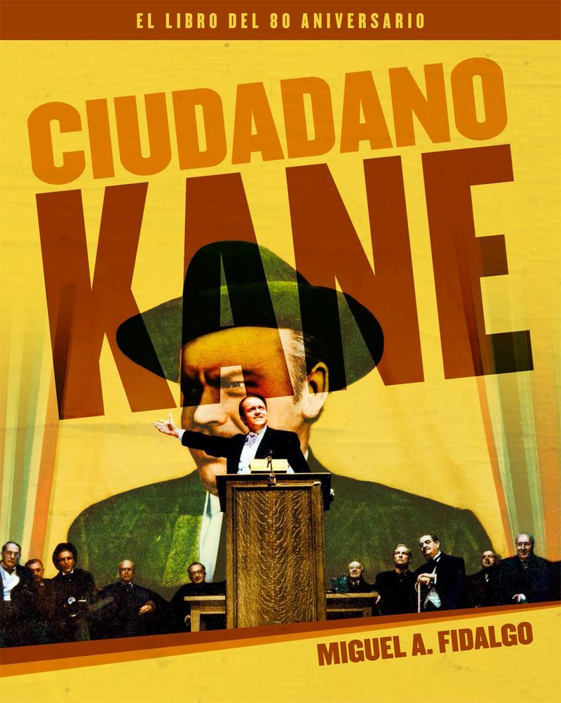 CIUDADANO KANE. EL LIBRO DEL 80 ANIVERSARIO: portada