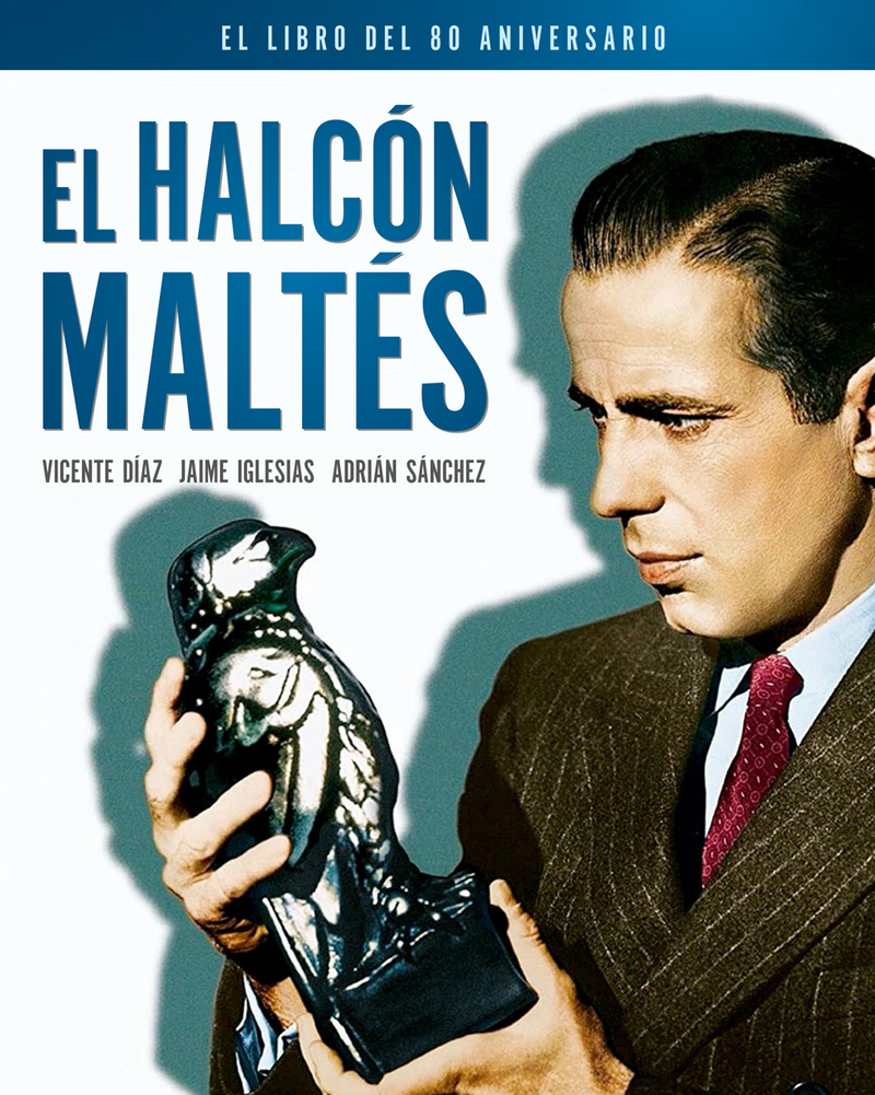 EL HALCÓN MALTÉS. EL LIBRO DEL 80 ANIVERSARIO: portada