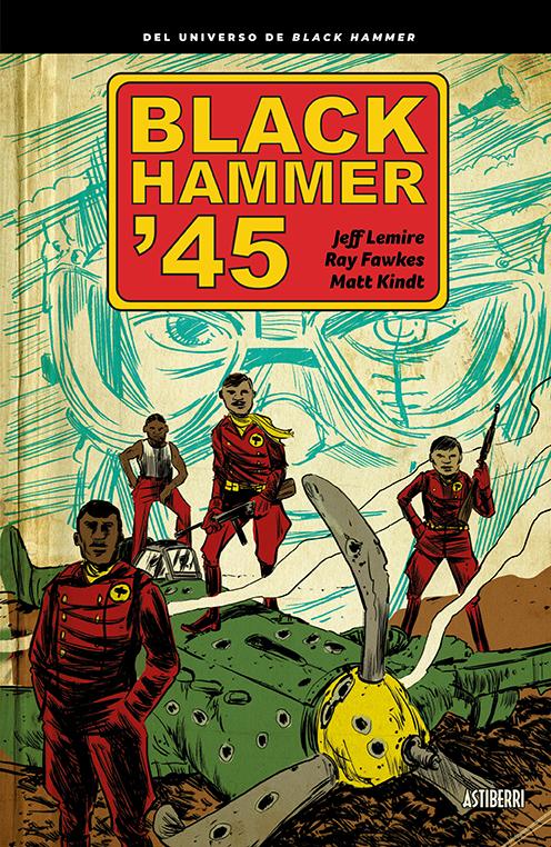 BLACK HAMMER '45: portada
