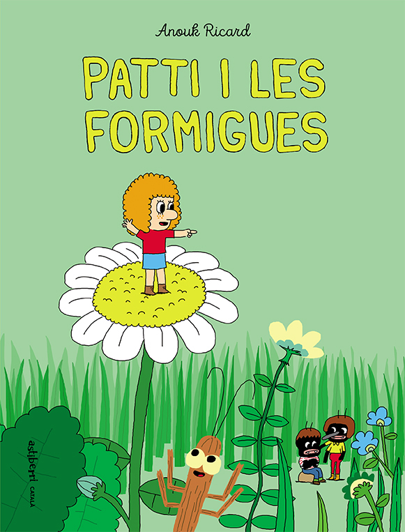 PATTI I LES FORMIGUES: portada