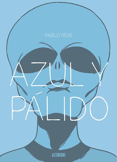 AZUL Y PÁLIDO: portada