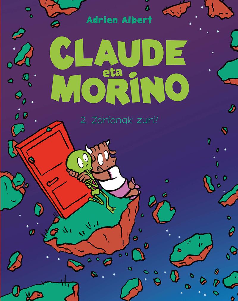 CLAUDE ETA MORINO 2. ZORIONAK ZURI! (EUSKERA): portada