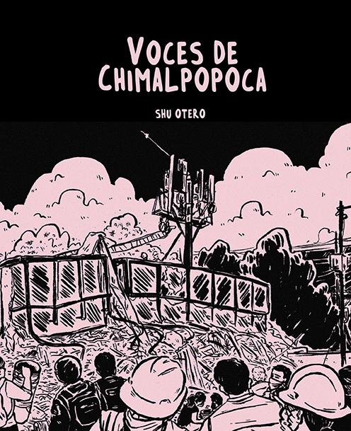 VOCES DE CHIMALPOPOCA: portada