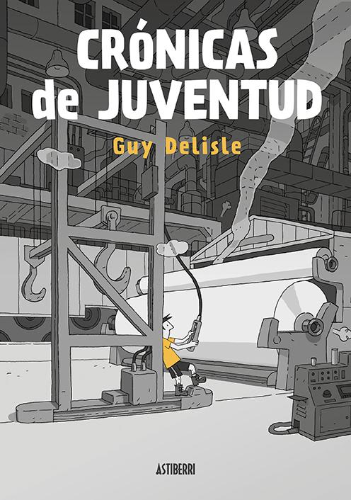 CRÓNICAS DE JUVENTUD: portada