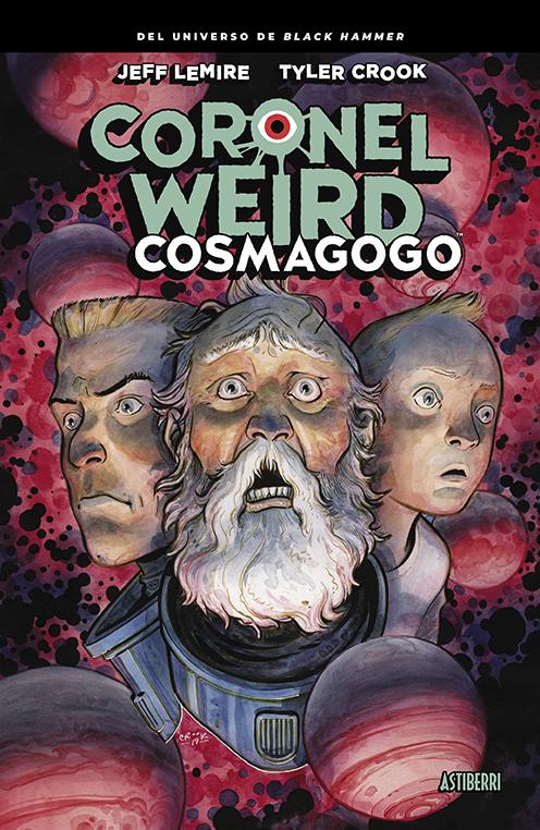 CORONEL WEIRD. COSMAGOGO: portada