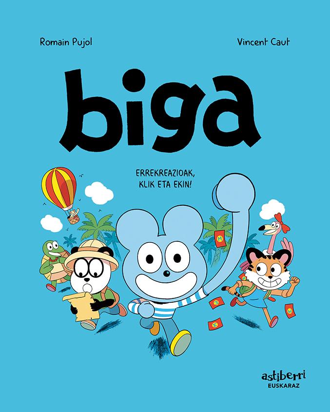 BIGA 3 (EUSKERA): portada