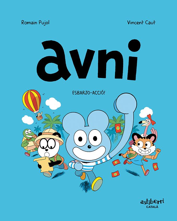 AVNI 3 (CATALÀ): portada