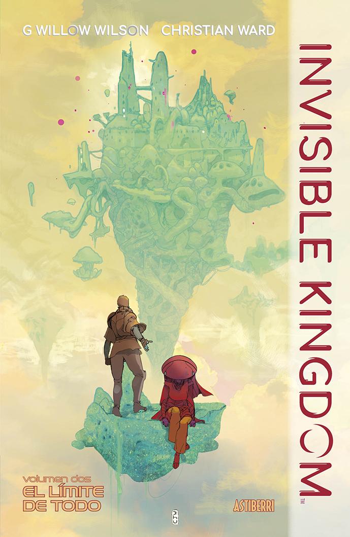INVISIBLE KINGDOM 2. EL LÍMITE DE TODO: portada