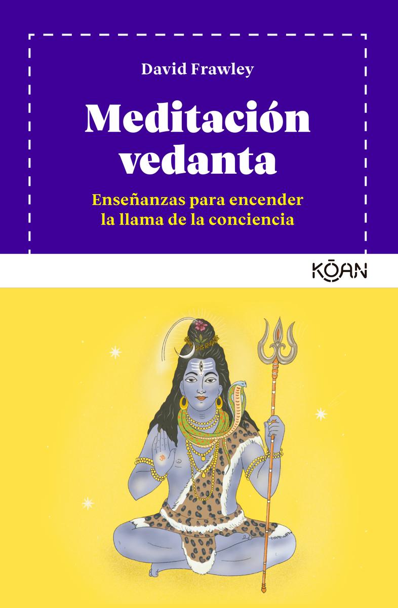 Meditación vedanta: portada