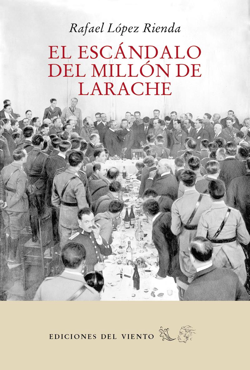 El escándalo del millón de Larache: portada