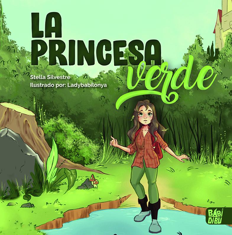 La princesa verde: portada