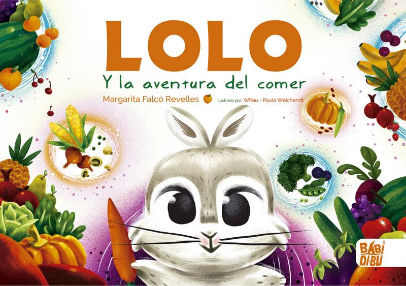 Lolo y la aventura del comer: portada