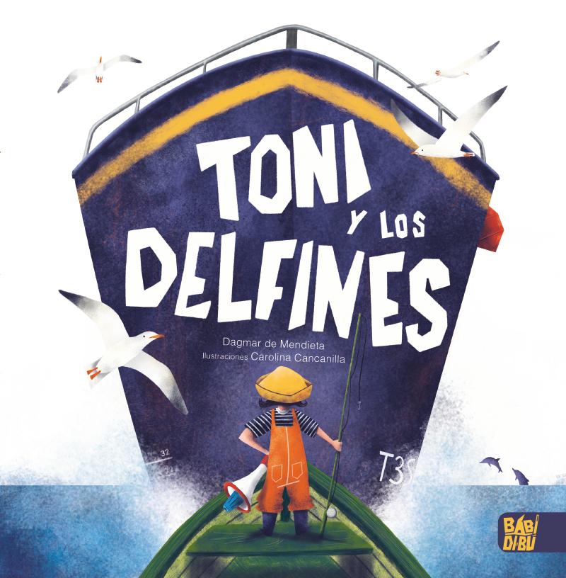 Toni y los delfines: portada