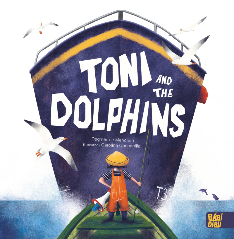 Toni and the dolphins: portada