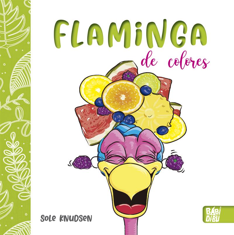 Flaminga de colores: portada