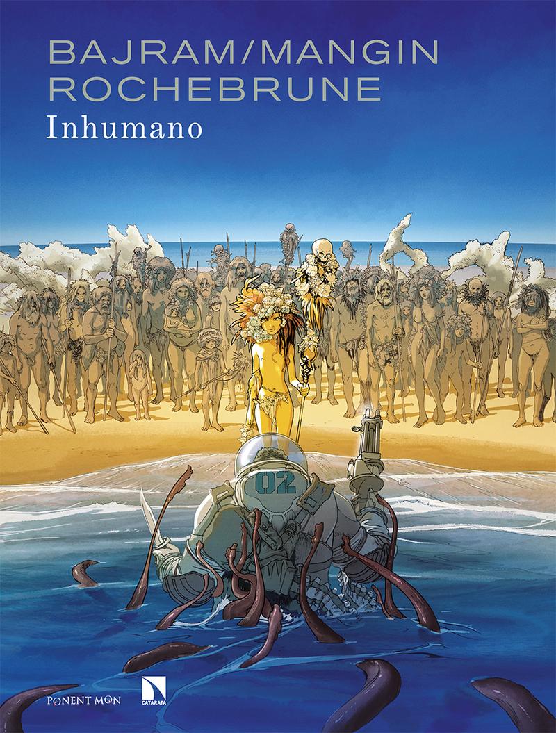 Inhumano: portada