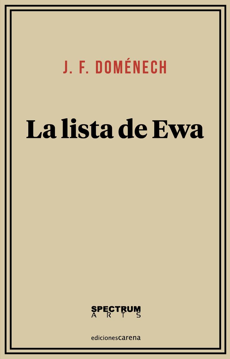 La lista de Ewa: portada