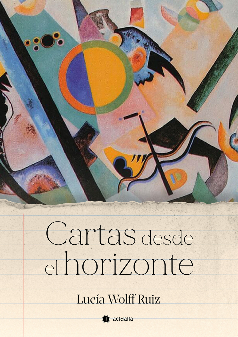 Cartas desde el horizonte: portada