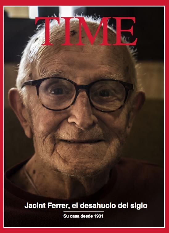 TIME: Jacint Ferrer, el desahucio del siglo: portada