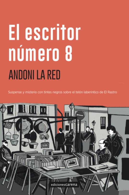 El escritor número 8: portada