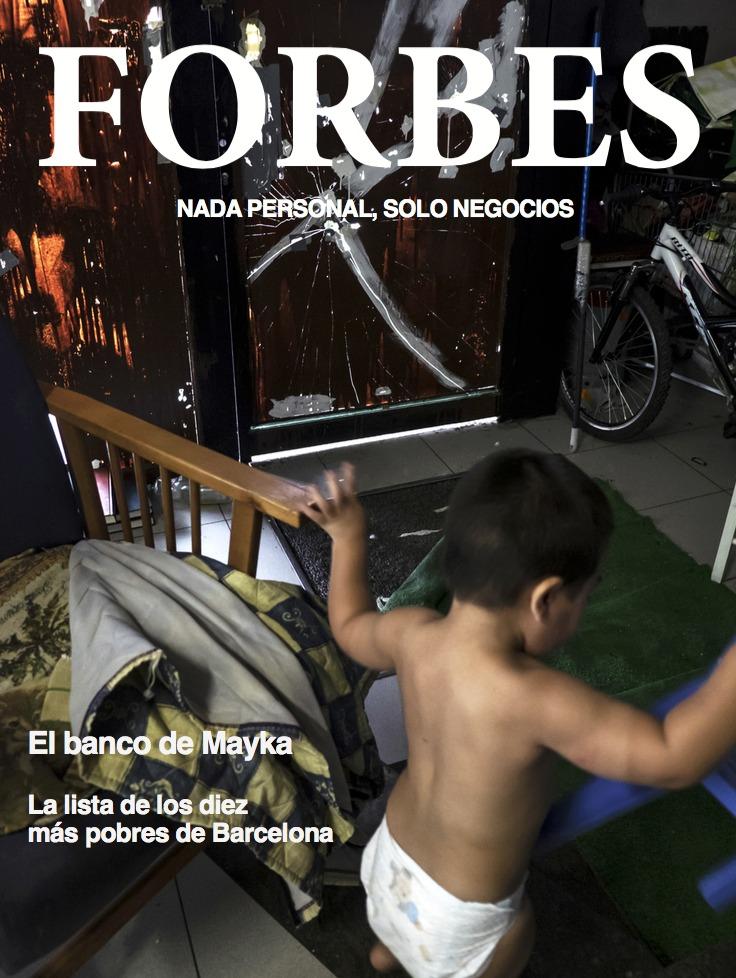 FORBES: El banco de Mayka: portada