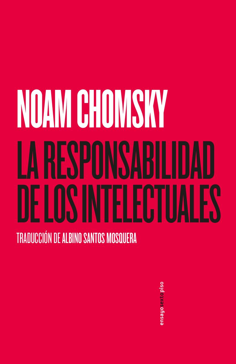 La responsabilidad de los intelectuales: portada