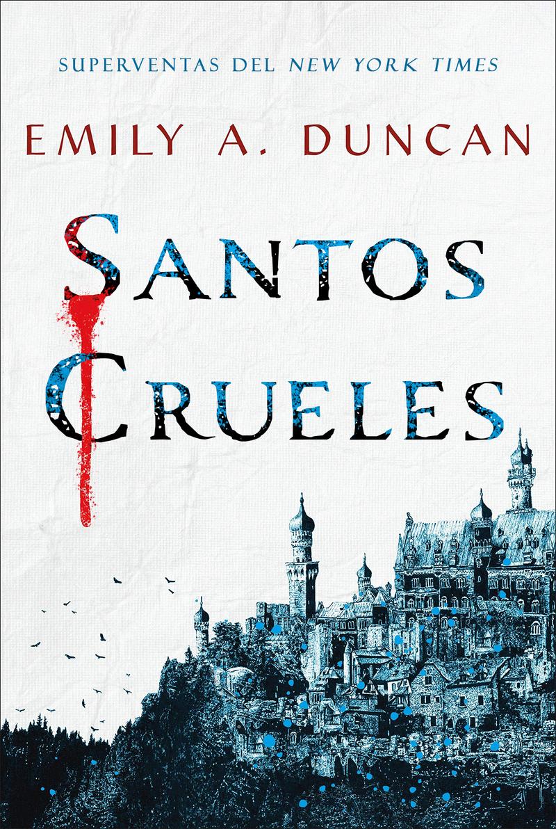 Santos Crueles: portada