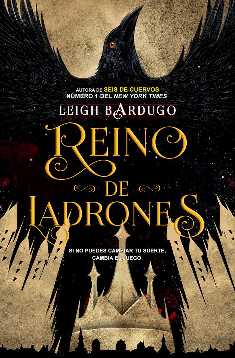 REINO DE LADRONES (RÚSTICA): portada