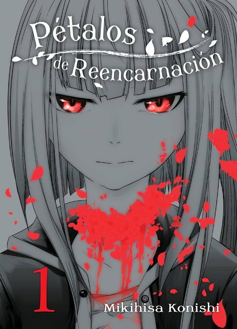 Pétalos de reencarnación 1: portada