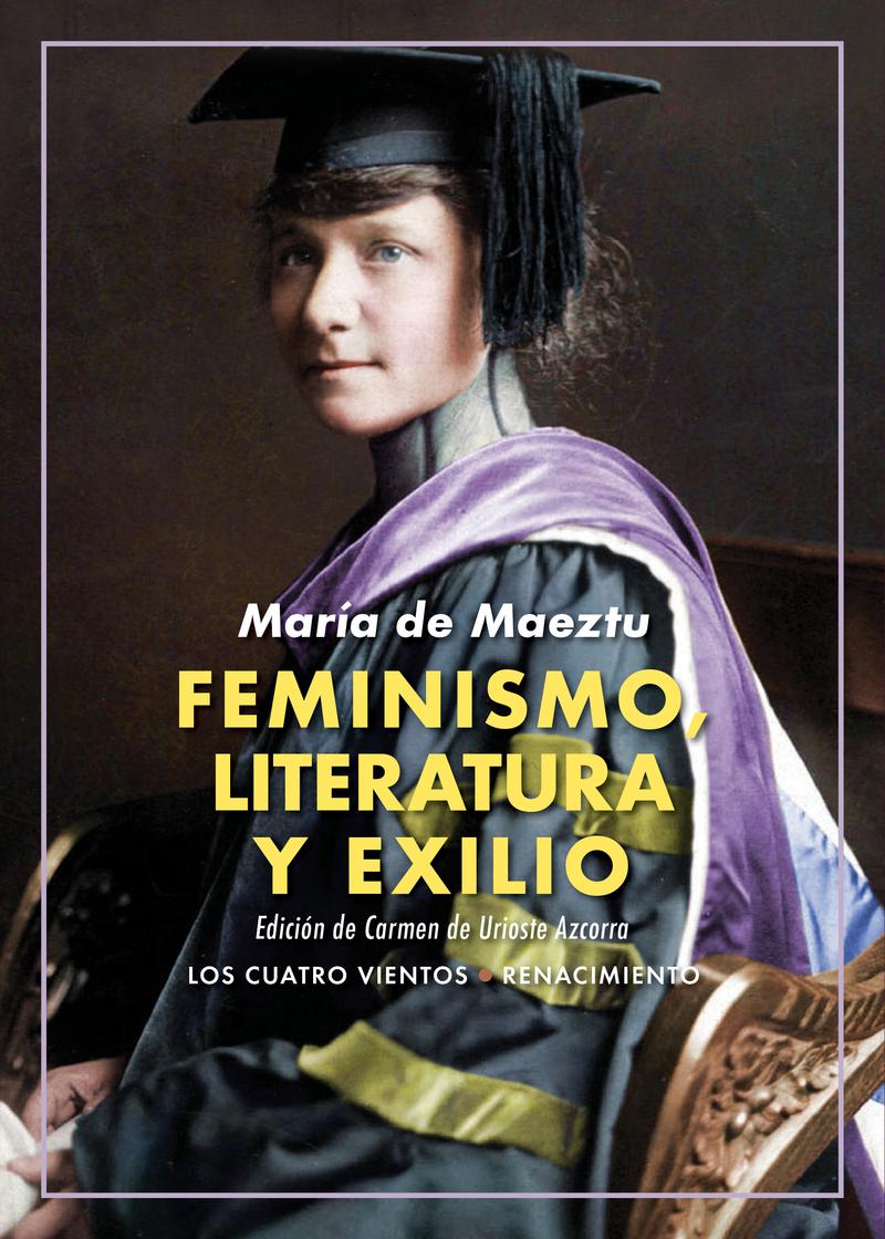 Feminismo, literatura y exilio: portada