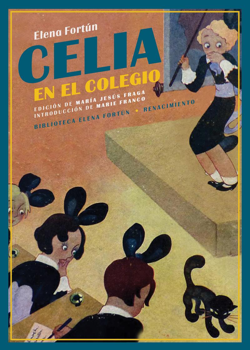 Celia en el colegio: portada