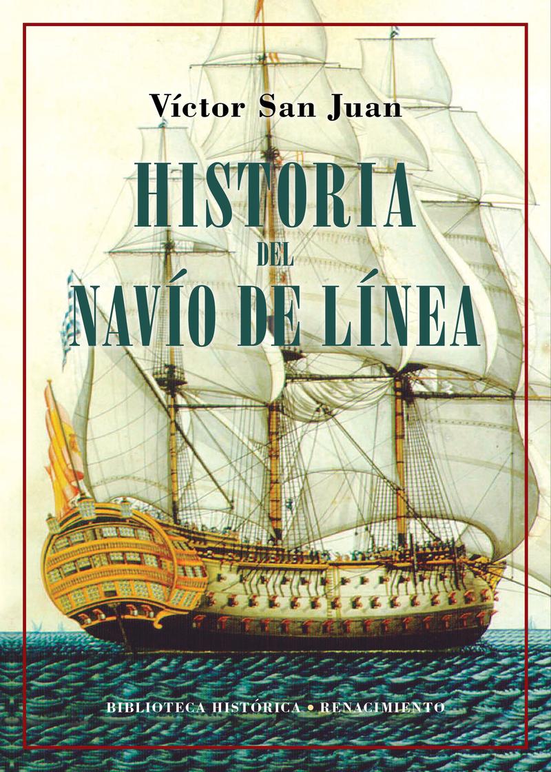 Historia del navío de línea: portada