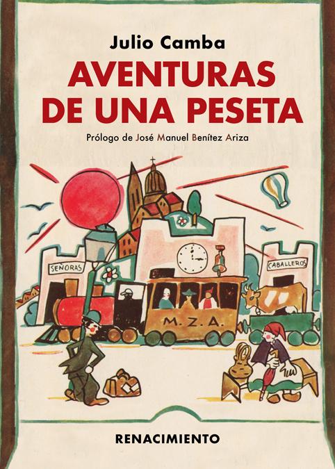 Aventuras de una peseta: portada