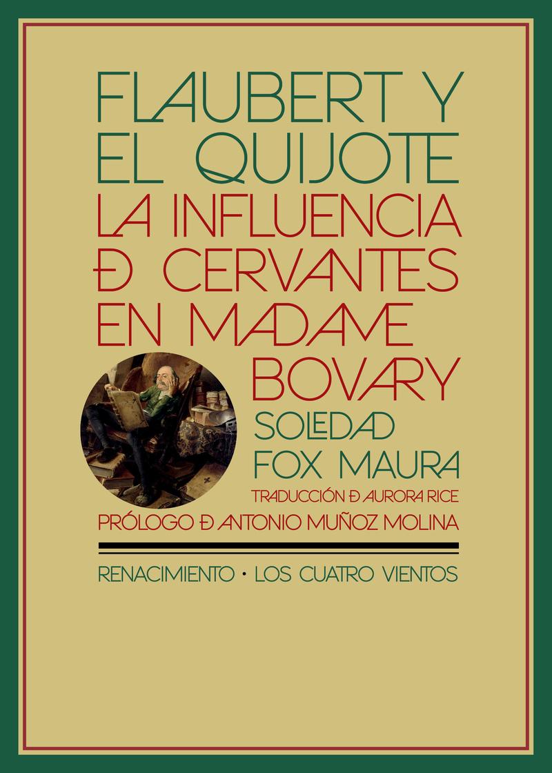 Flaubert y el Quijote: portada