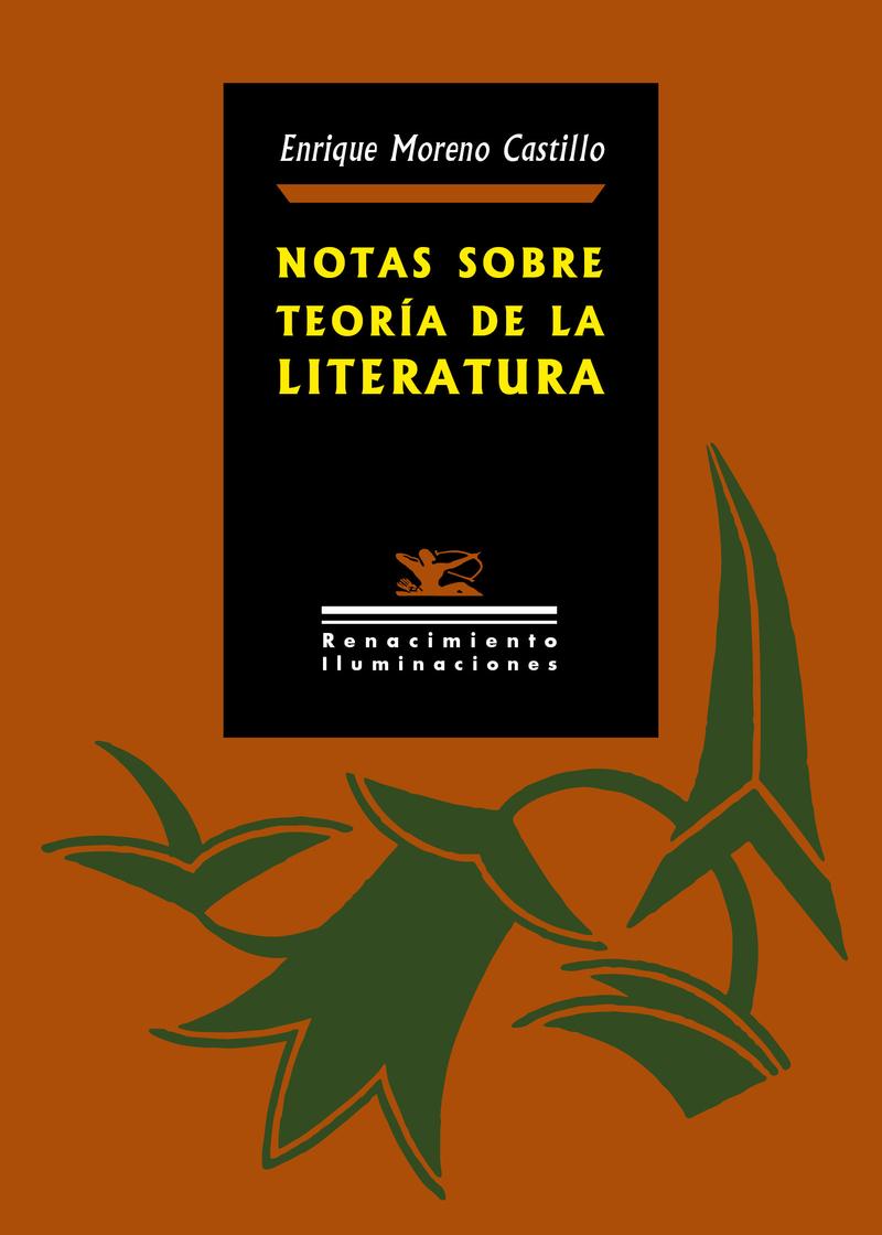 Notas sobre teoría de la literatura: portada