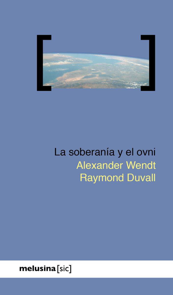 La soberanía y el ovni: portada