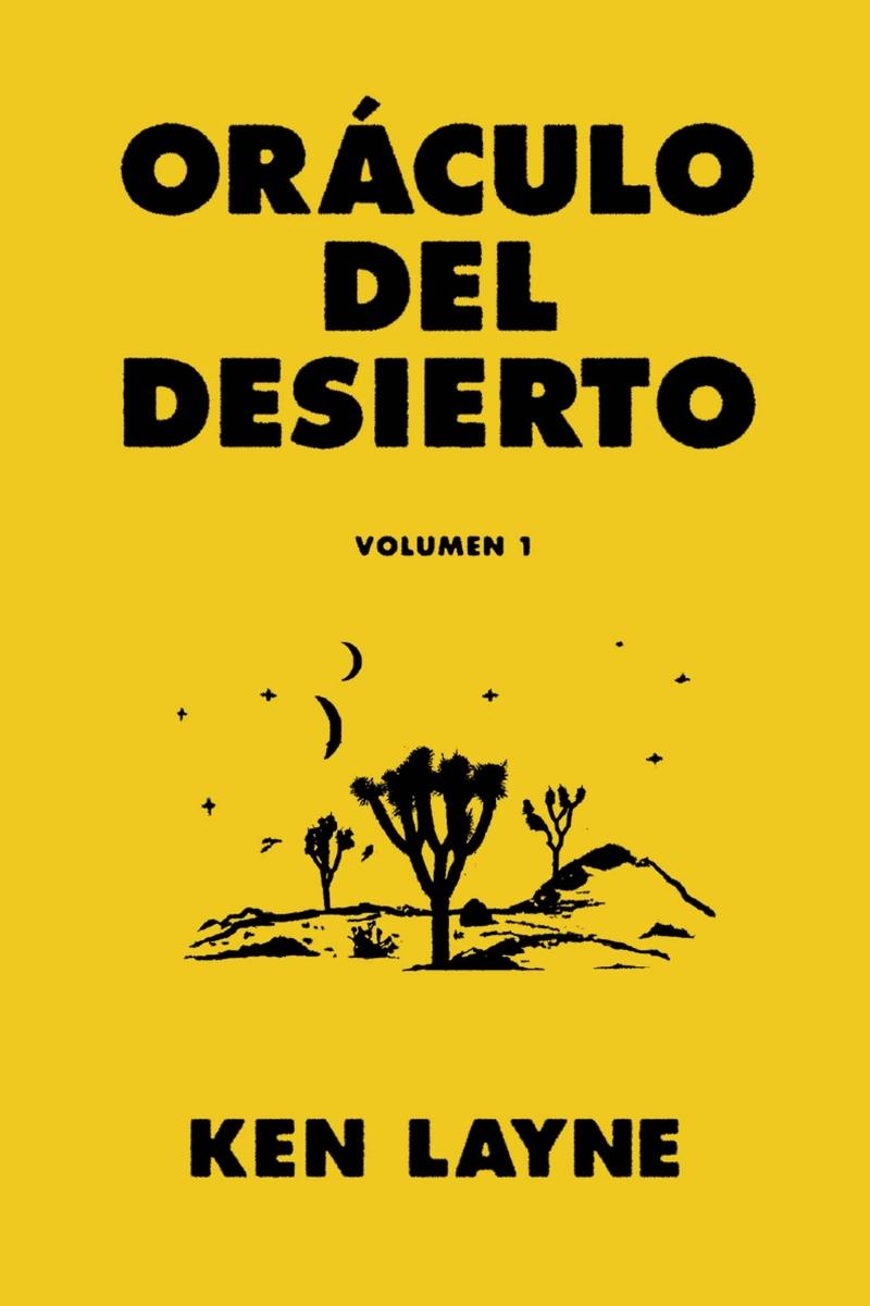 Oráculo del desierto: portada