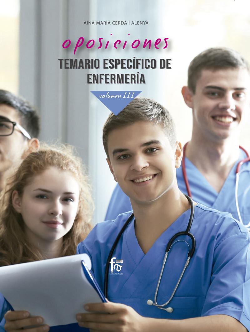 OPOSICIONES.TEMARIO ESPECÍFICO DE ENFERMERÍA.VOLUMEN III: portada