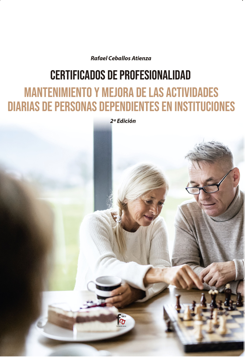 MANTENIMIENTO Y MEJORA DE LAS ACTIVIDADES DIARIAS DE PERSONA: portada