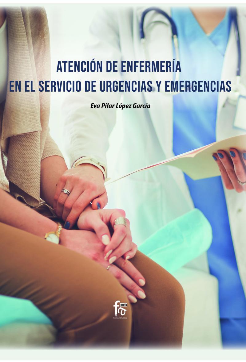 ATENCIÓN DE ENFERMERÍA EN EL SERVICIO DE URGENCIAS: portada