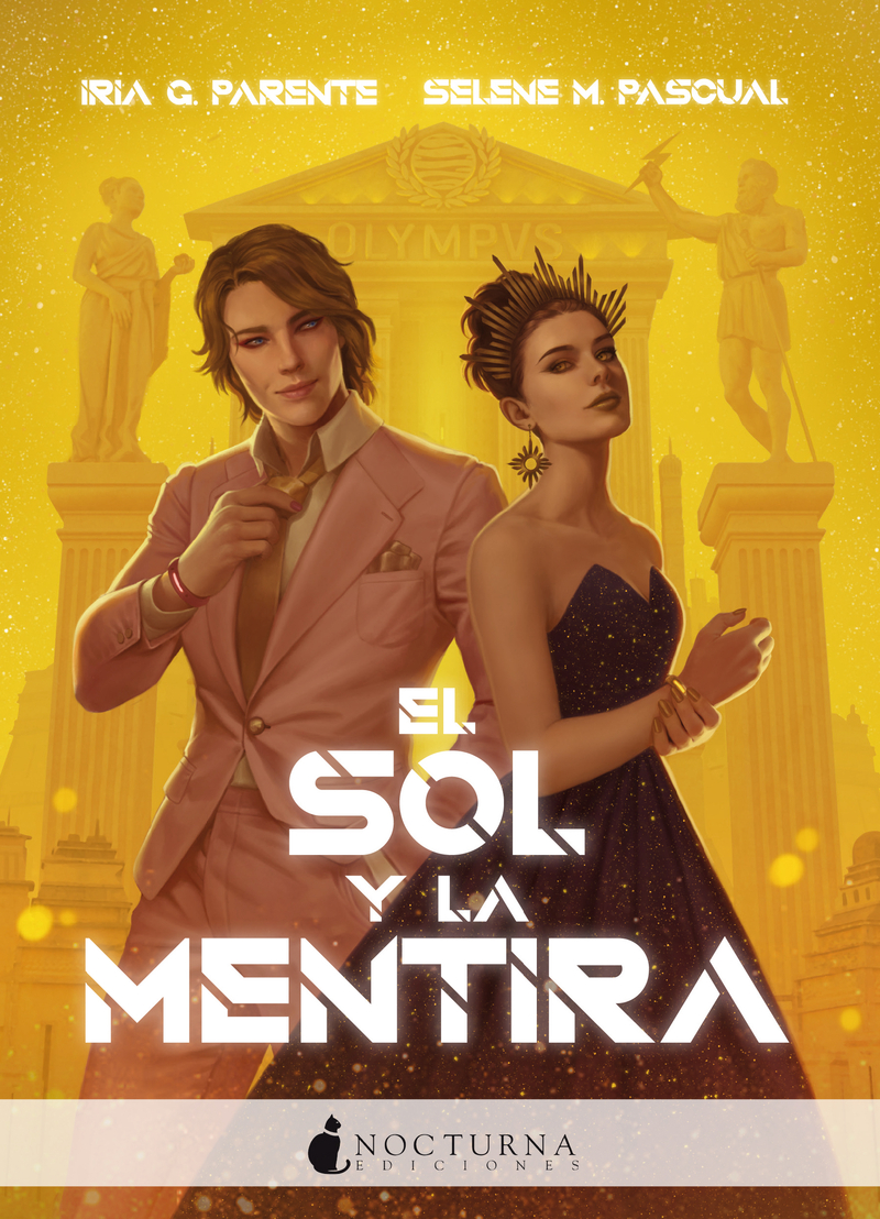 SOL Y LA MENTIRA,EL: portada