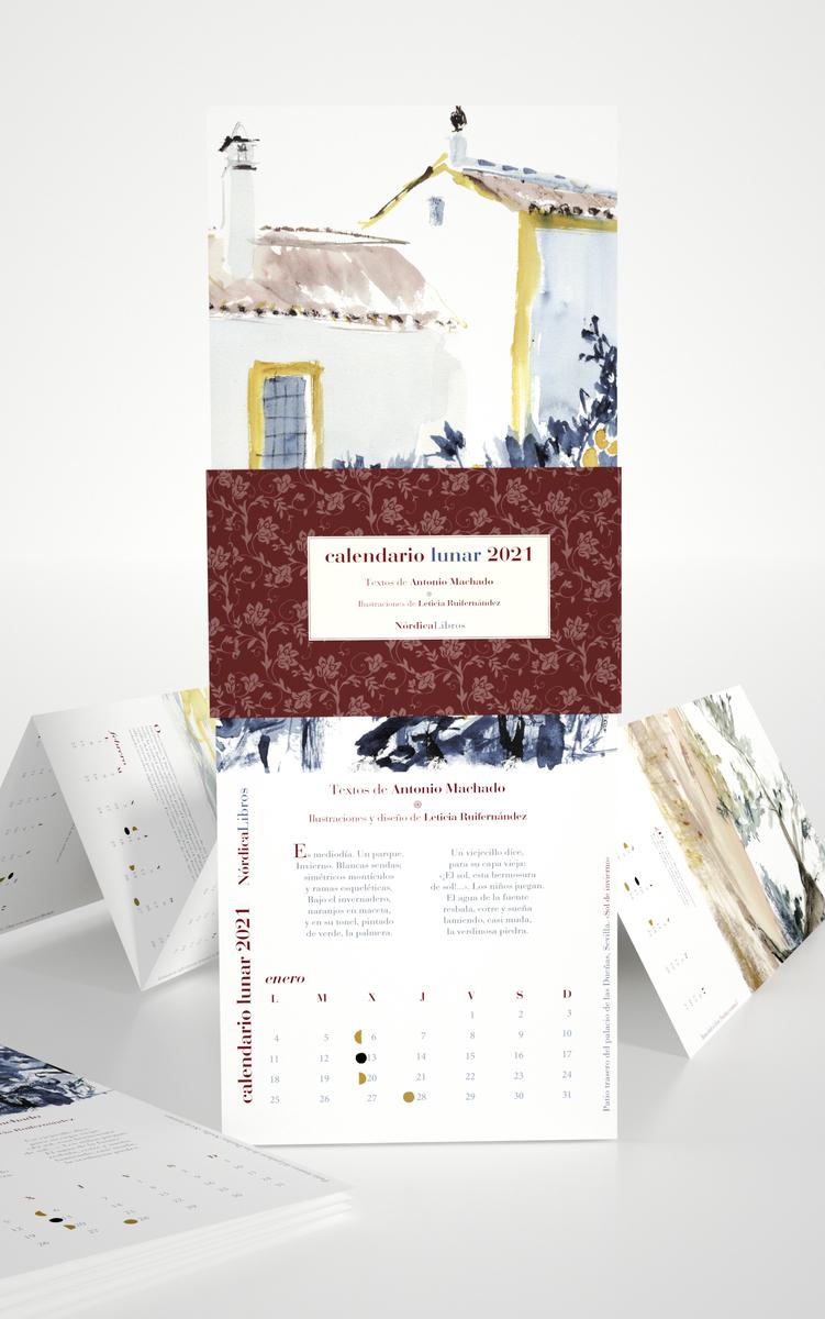 Calendario Antonio Machado 2021: portada