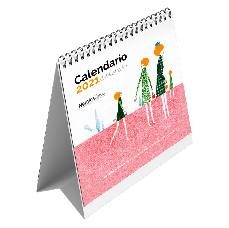 Calendario del ilustrador 2021: portada