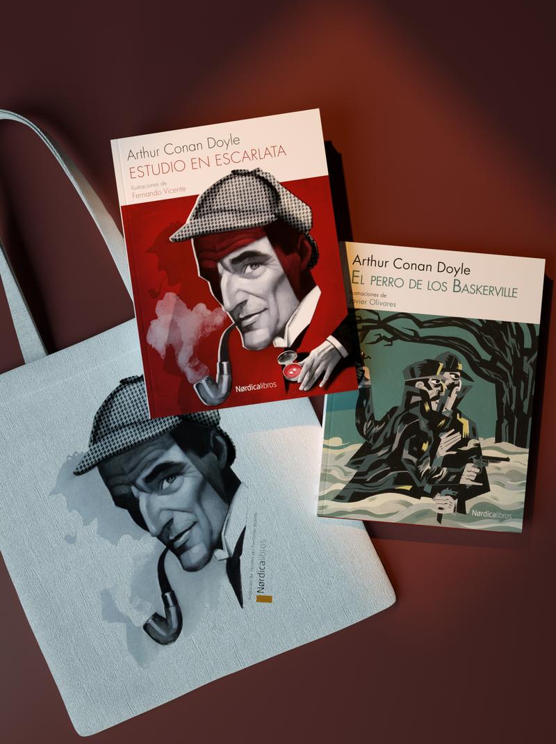 Pack Sherlock Holmes: portada