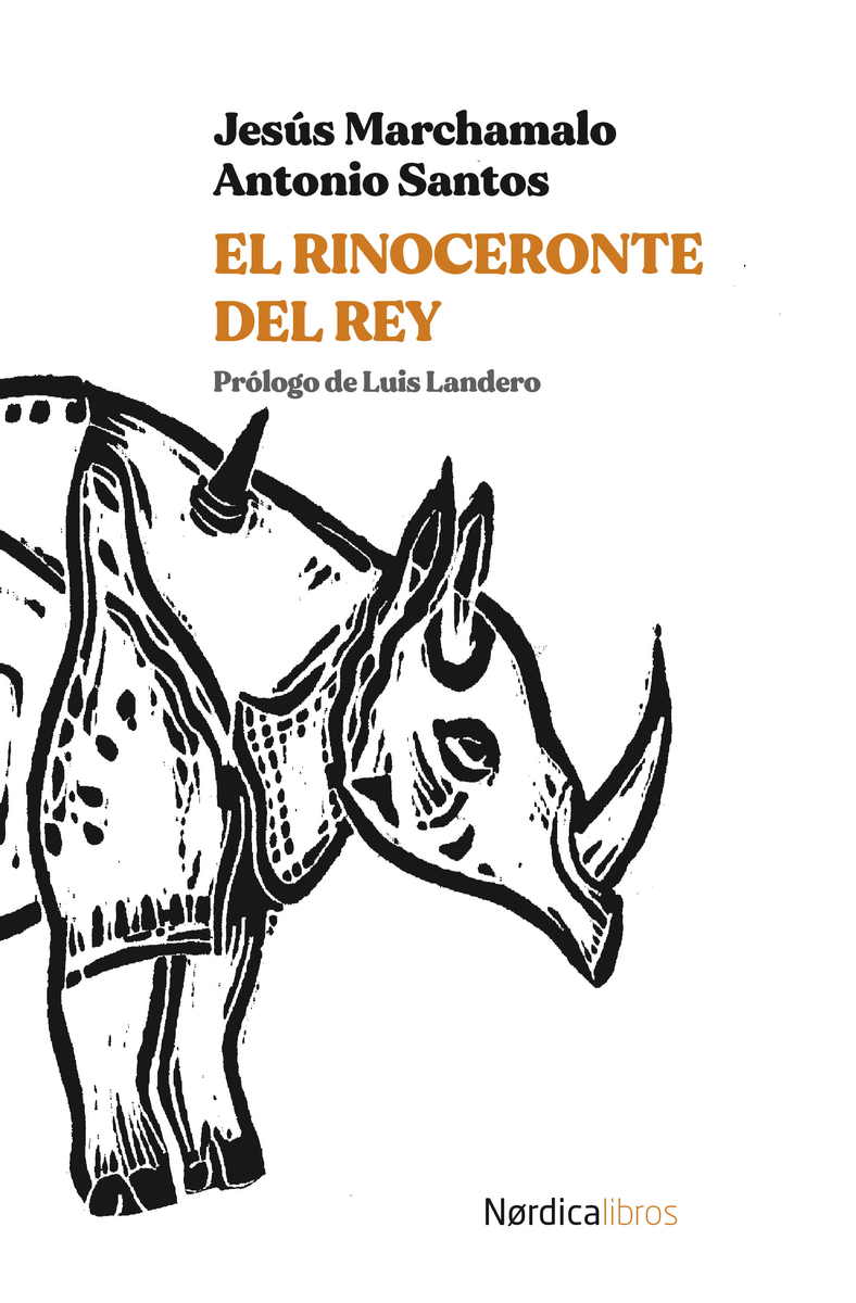 El rinoceronte del rey: portada
