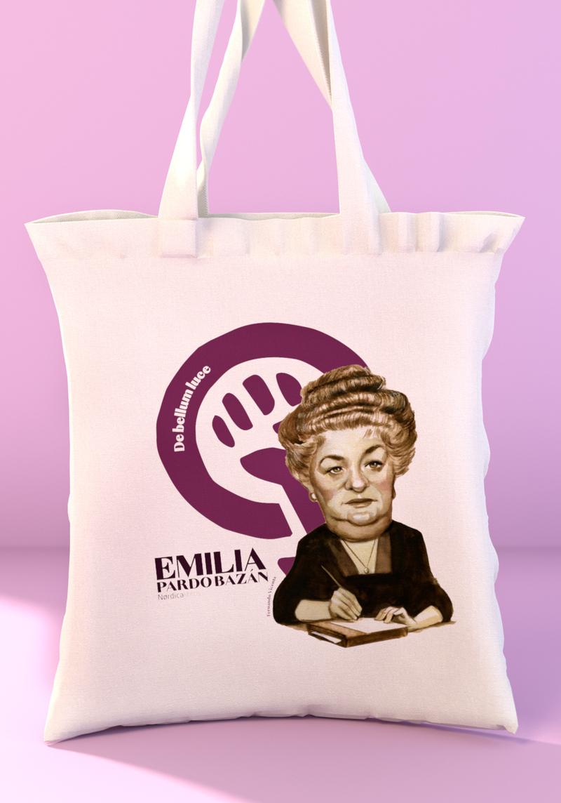 Bolsa centenario Emilia Pardo Bazán: portada