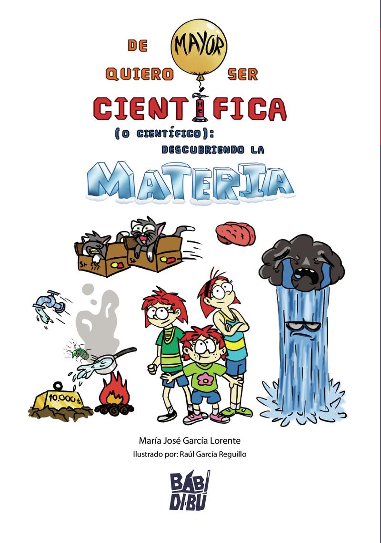 De mayor quiero ser Científica (o Científico): portada
