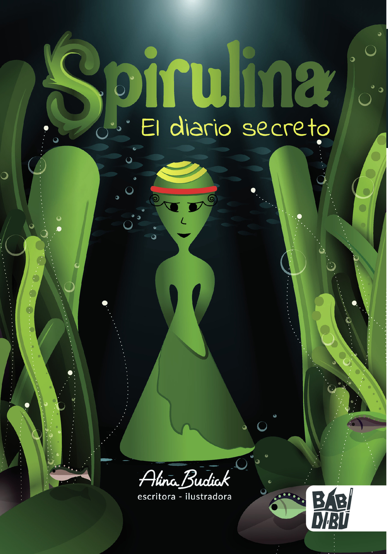 Spirulina. El diario secreto: portada