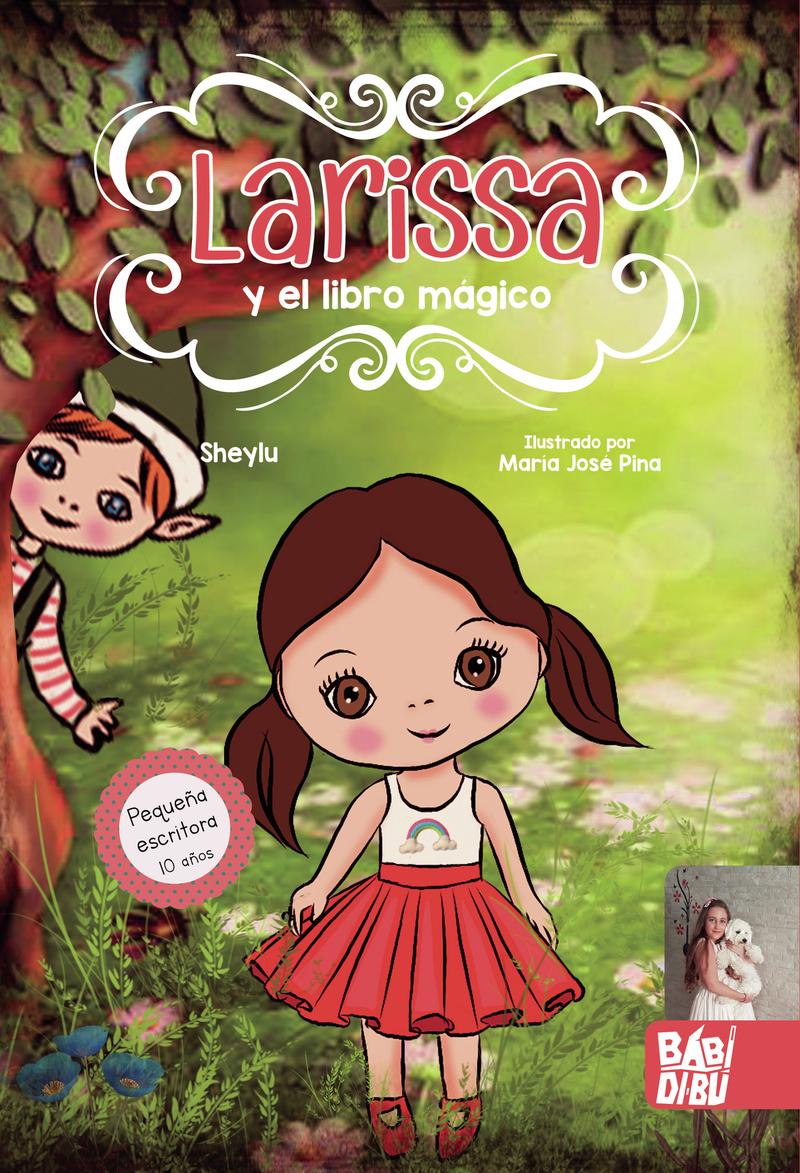 Larissa y el libro mágico: portada