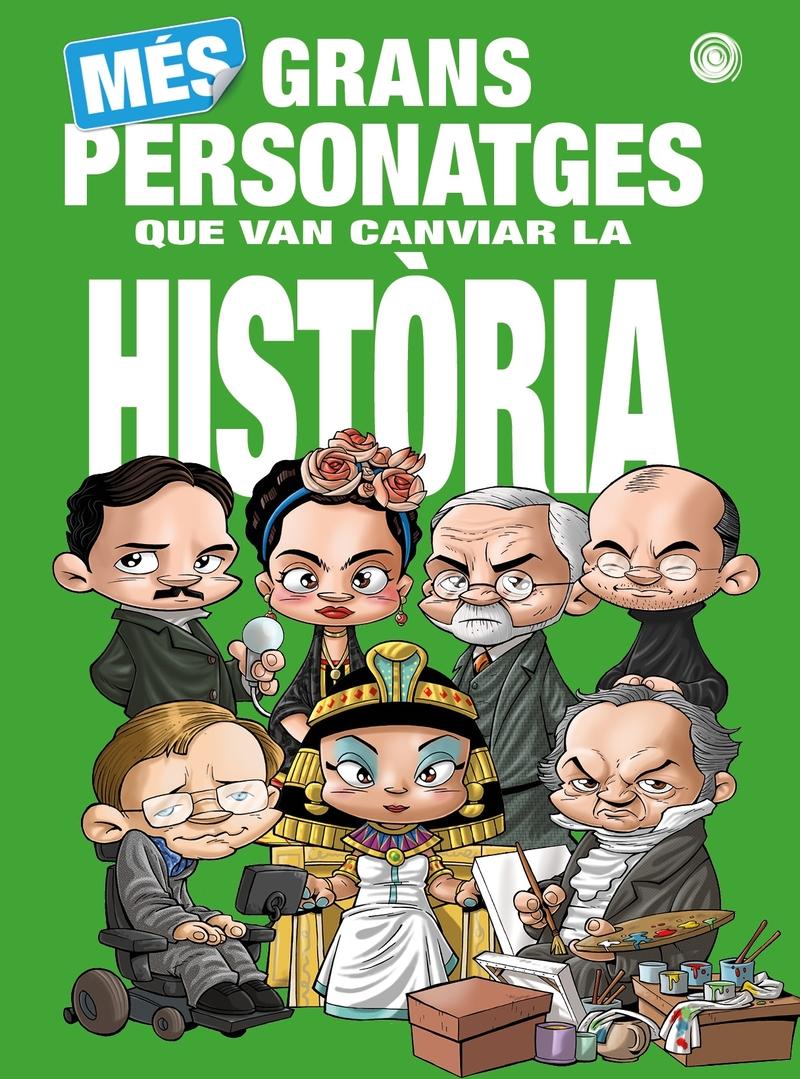 Més Grans Personatges que van canviar la Història: portada